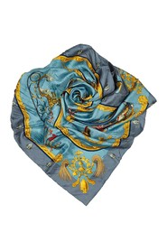 Plumes and Grelots Silk Scarf