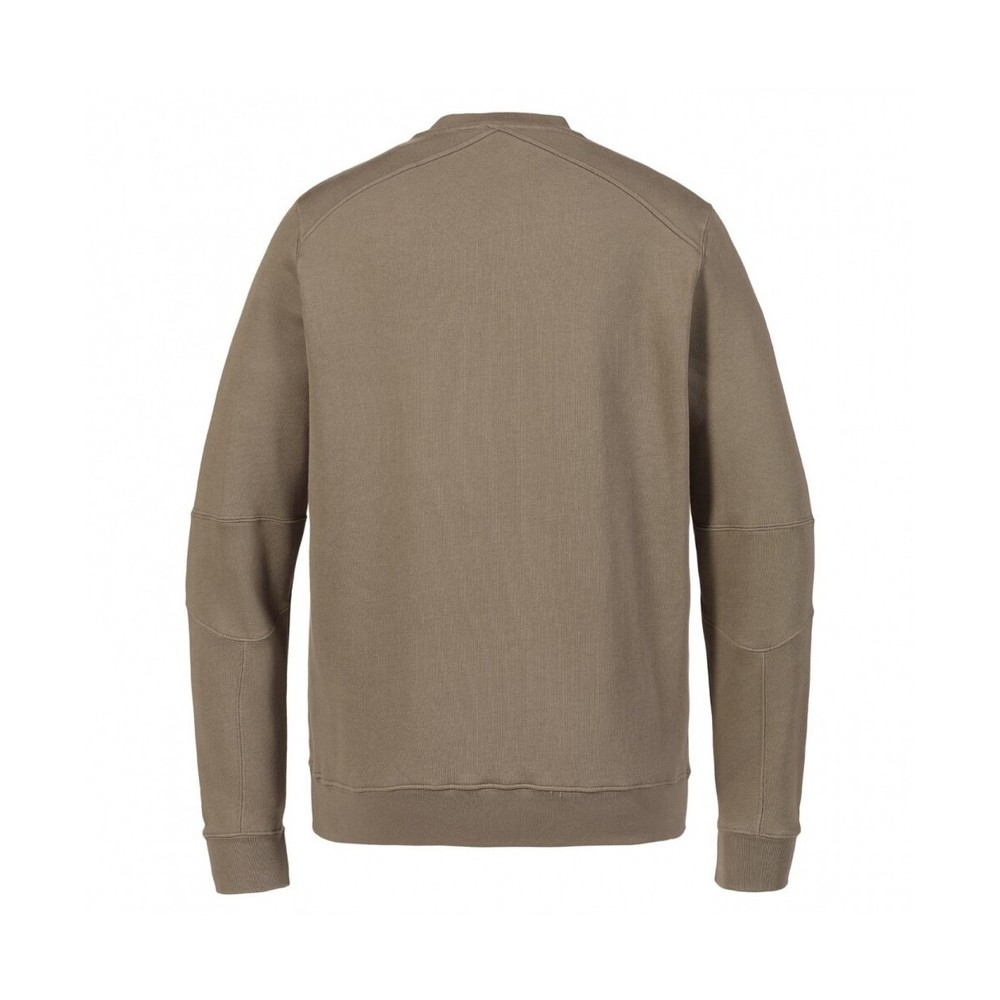 Beige Sweatshirt | MA.STRUM | Hoodies  sweatvesten | Heren winter kleren