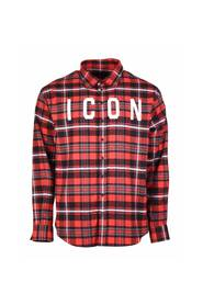 Checked pattern shirt Icon