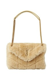 Loulou Teddy Small Shoulder Bag