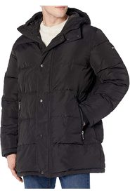 Jacket Puffer Quilted Full-Zip Hooded