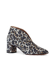 Animal Print Shoe Boot