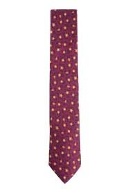 Cravatta fantasia floreale