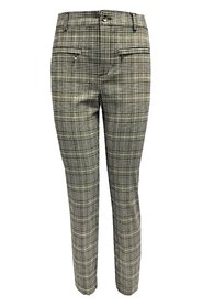 Checkered Pattern Pants
