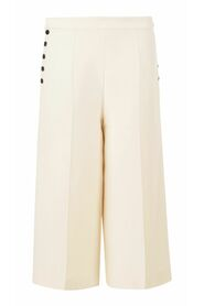 begagnade Button Up Flared Culottes