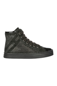 girls shoes child suede high top leather sneakers r141