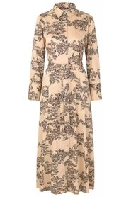 Picnic LS Maxi Dress