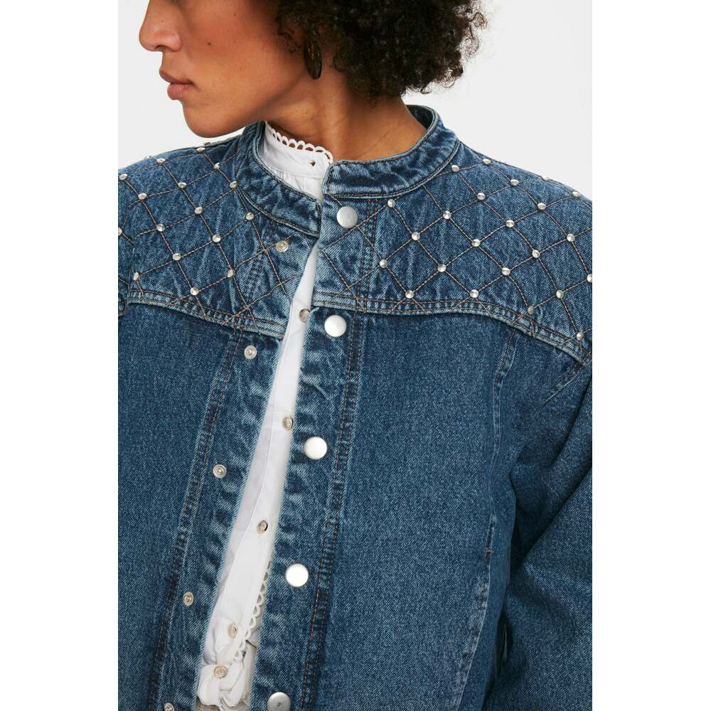 Karen by Simonsen Blue Jacket Karen by Simonsen