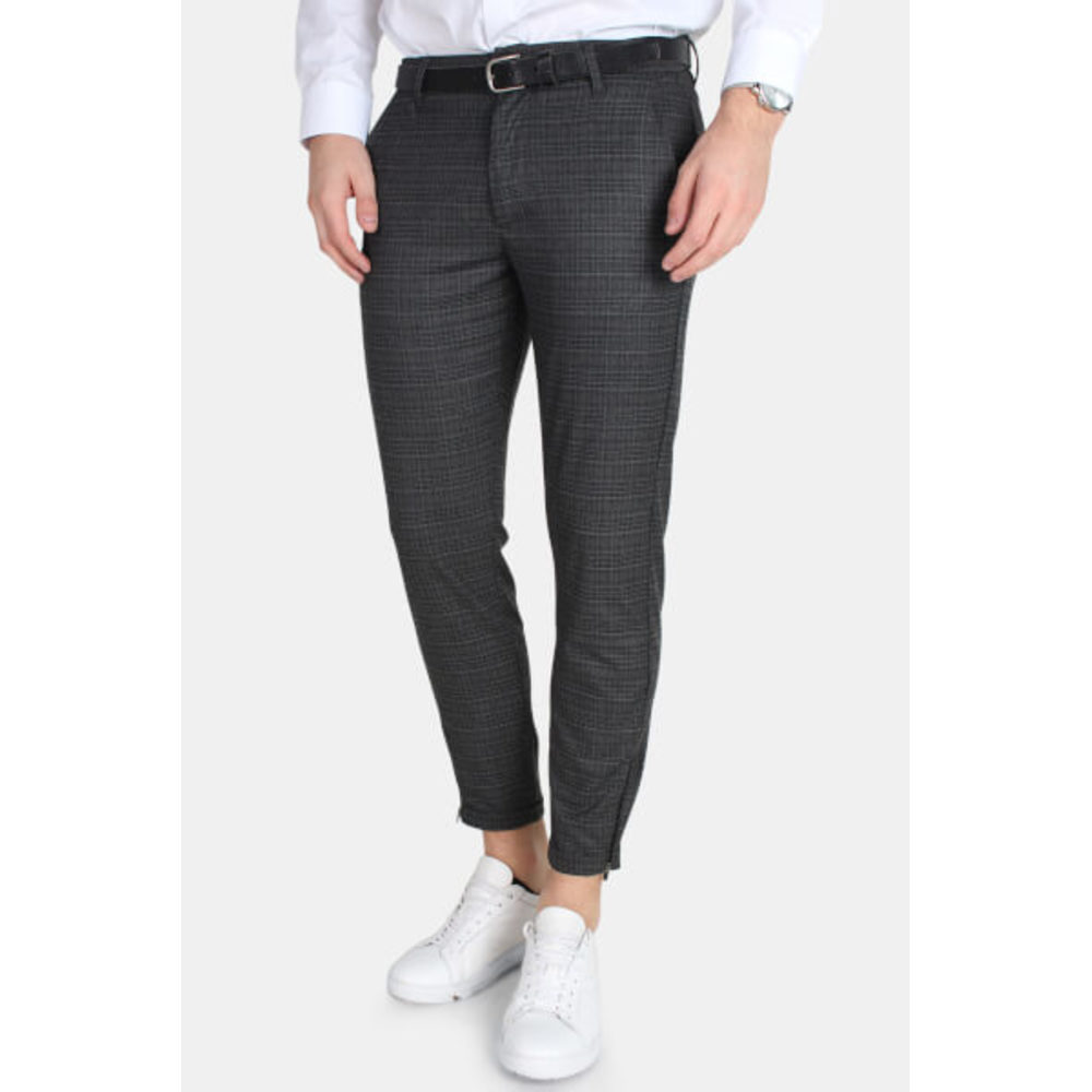 Pisa Chino Grey Check