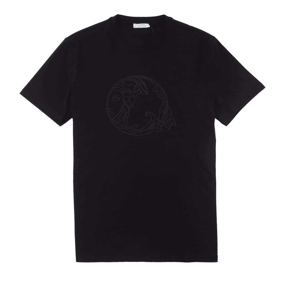 Cotton Medusa Logo T-Shirt