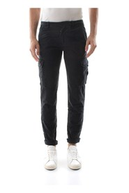 40WEFT AIKO 3708 PANTS Men BLACK