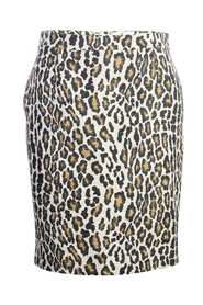 Pre-owned Leopard Print Skirt Condition Very Good