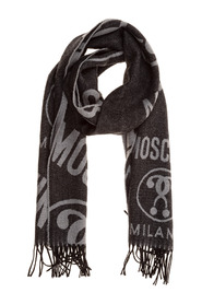 wool scarf Double Question Mark