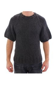 Cashmere Knitted Shortsleeved Sweater