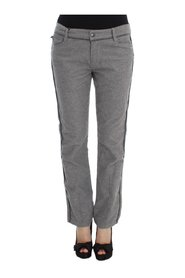 Straight Fit Casual Pants