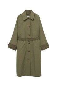 Quilted Ttrench Coat