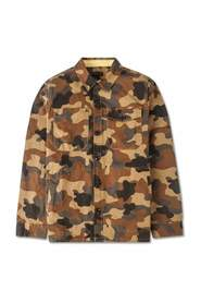 Camo Button Thru Shirt