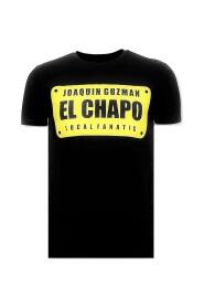 Luxury T-shirt - Joaquin Guzman El Chapo