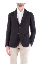 CORNELIANI 83YAR5-9120157 Jacket Men BLUE NAVY