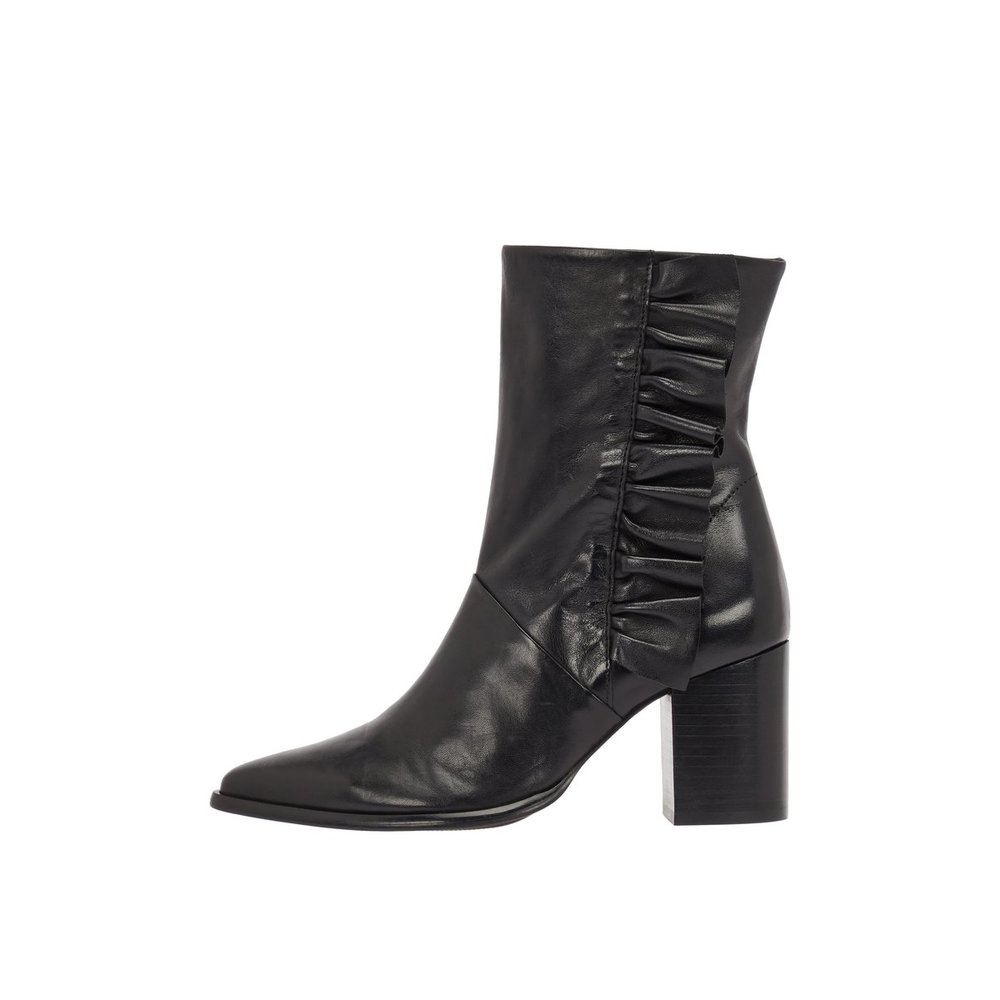 Ankle boots NICKI Leather Frill