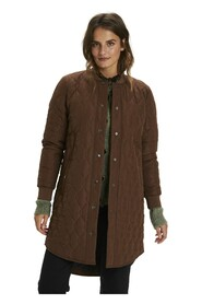 shally Quilted Coat