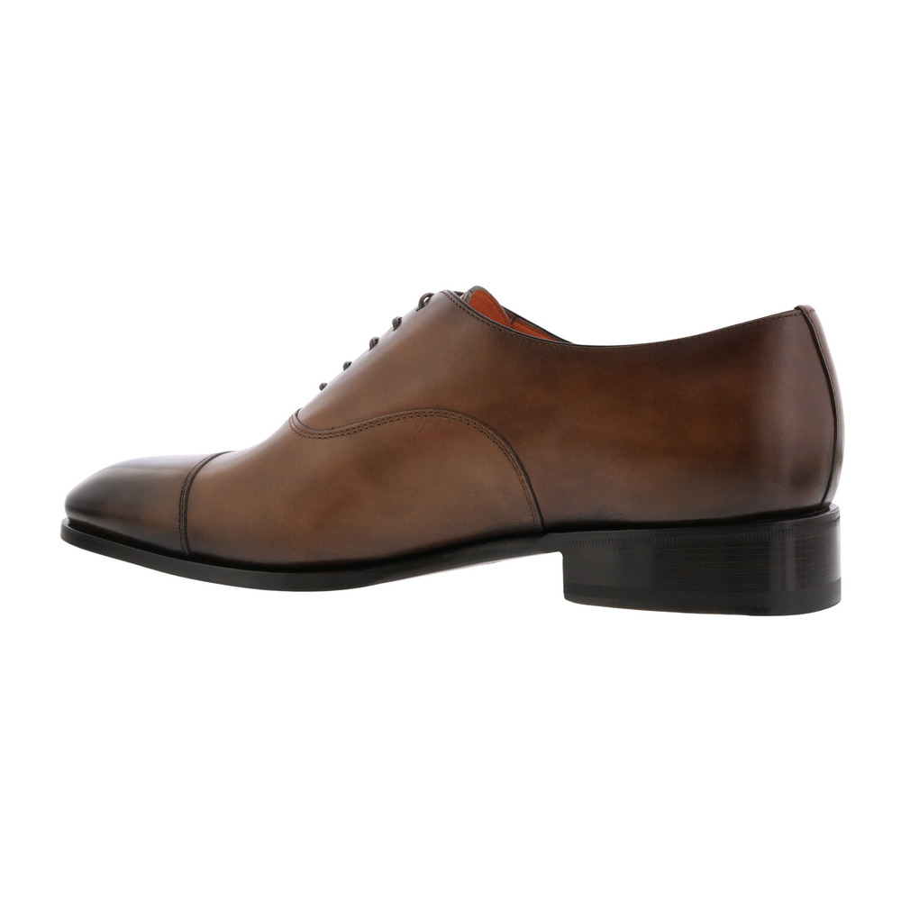 Santoni Brown SHOES RACER-OBRM52 Santoni