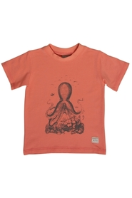 Hust 49511752 T-shirt orange