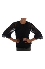 Floral Lace Knipsel Silk Top