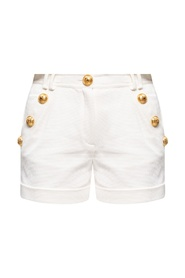 Shorts with turn-up cuffs