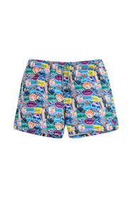 City Sticker swimming trunks