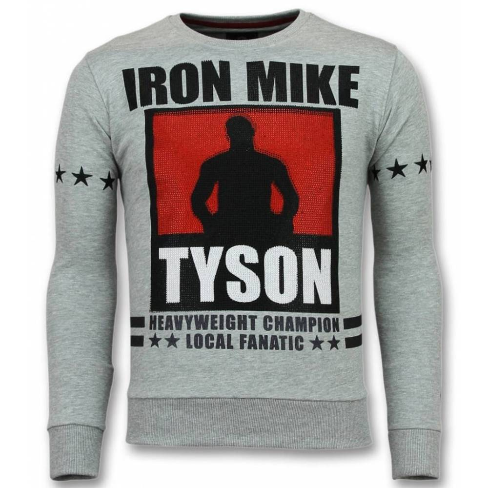 Mike Tyson Trui Iron Mike Heren Sweater Truien Mannen