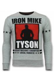 Mike Tyson Pullover Iron Mike Menn Gensere Gensere Menn