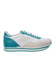 men's shoes leather trainers sneakers H222