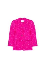Oversized lace jacket