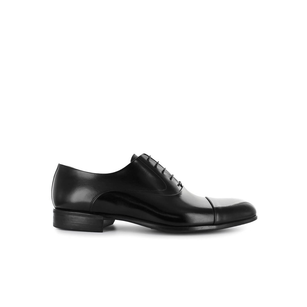 LEATHER OXFORD LACE UP