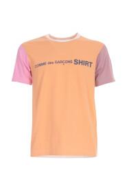 JERSEY VANLIG T-shirt beklär LOGO