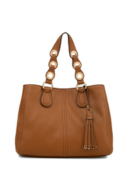 Handbag with tassel