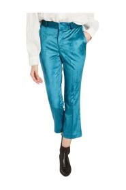 Papou velvet 7/8 length pants