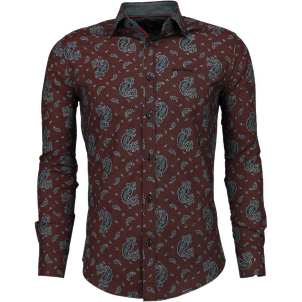 Slim Fit Shirt Luxe Pattern