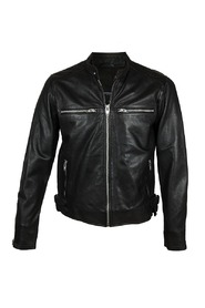 Leather Jacket Rockandblue Wayne Black