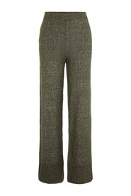 Trousers Knitted wide-leg