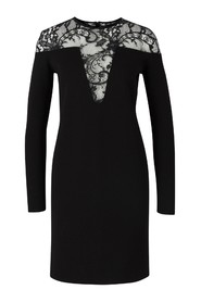 Knitted lace dress