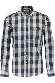 Checked flannel shirt L/S