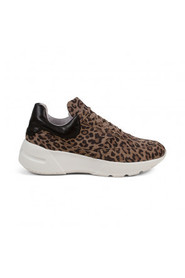 Ryan leopard suede - Pavement