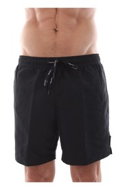 CALVIN KLEIN KM0KM00170 MEDIUM DRAWSTRING swimsuit  sea and pool Men BLACK