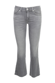 ANKLE BOOT SLIM ILLUSION GENUINE RAW CUT JEANS