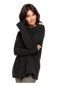 Gruby sweter ze ściągaczem