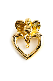 angel heart brooch