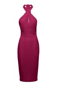 Sukienka wiązana wokół szyi