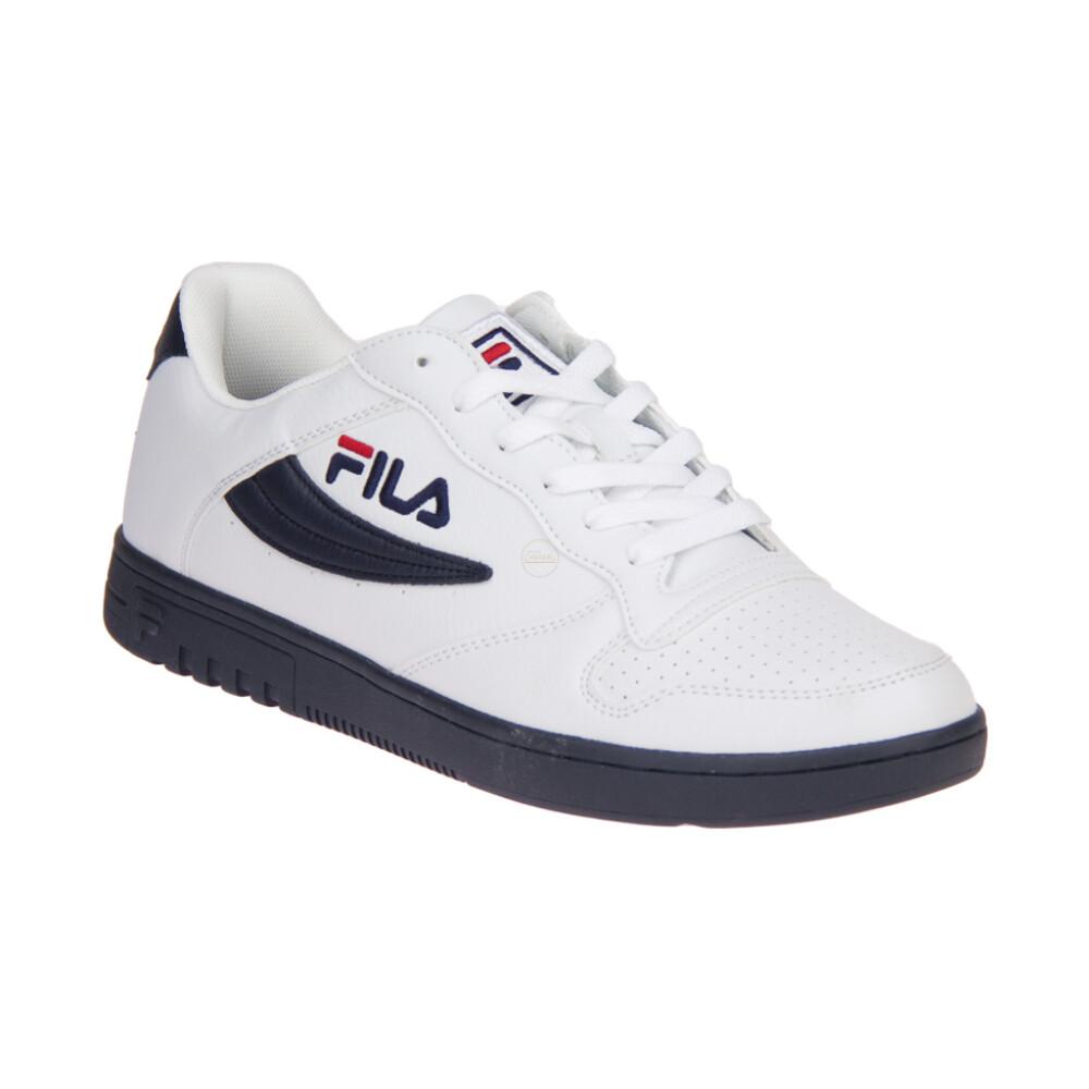 FX100 Low Wit-Blauwe Sneaker | Fila | Sneakers | Herenschoenen